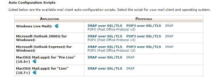 Auto Configuration Scripts
