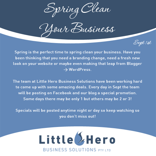 spring clean your business